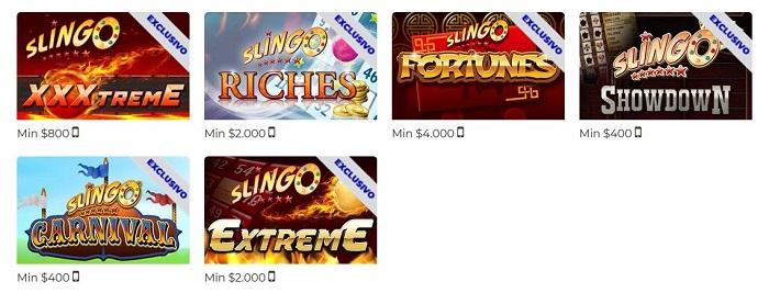 Slingo juegos de casino