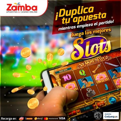 Tragamonedas online de Zamba