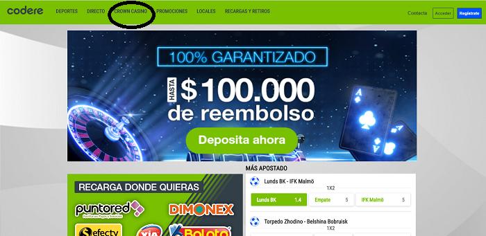 Casino Online de Codere