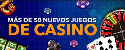 Nuevos juegos de casino de Betjuego
