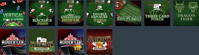 Juegos de blackjack online