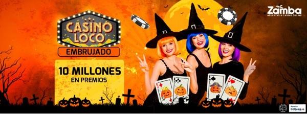 promociones halloween casino  zamba