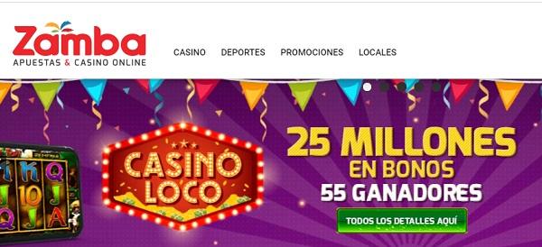zamba novedades casino online