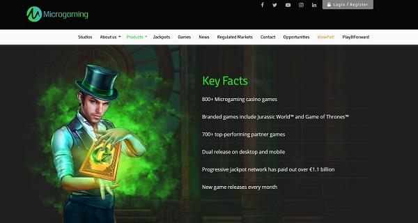 Microgaming proveedor de juegos de casino online en Colombia