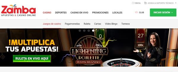 elegir un casino online zamba