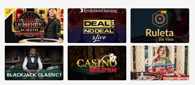 mejores casinos en vivo zamba