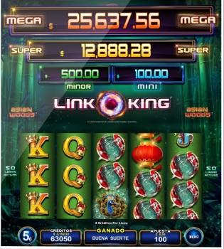 Link King tragamonedas online de Zitro Digital