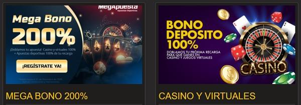 megapuesta promociones casino