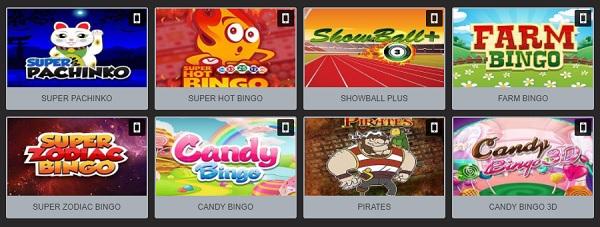 video bingo megapuesta