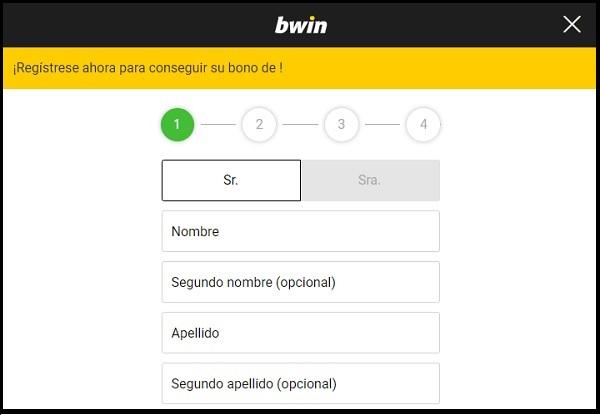 bwin registro