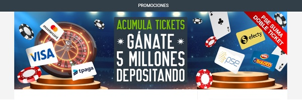 promociones casinos colombia